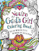 You re God s Girl  Coloring Book