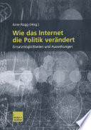 Wie das Internet die Politik verändert