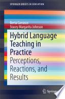 Hybrid Language Teaching in Practice