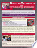 Bullying Prevention For Students With Disabilities