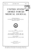 United States Armed Forces Medical Journal book