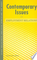 Contemporary Issues In Employment Relations