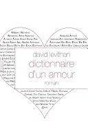 Dictionnaire d'un amour Book