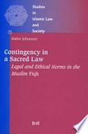 illustration du livre Contingency in a Sacred Law