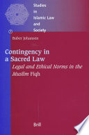 Contingency in a Sacred Law