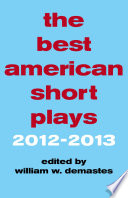 The Best American Short Plays 2012 2013