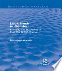 Look Back in Gender  Routledge Revivals