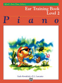 Alfred's Basic Piano Library, Ear Training Book 2