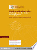 Ebook Multilateralizing Regionalism Epub Richard Baldwin,Patrick Low Apps Read Mobile