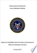 Intelligence Community Legal Reference Book Summer 2016