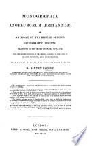Monographia Anoplurorum Britanniae