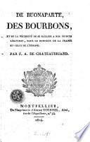 De Buonaparte, des Bourbons, et de la nécessité de se rallier à nos princes légitimes, pour le bonheur de la France et celui de l'Europe