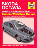 Skoda Octavia Diesel Service And Repair Manual 2004 2012