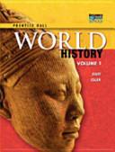 World History 2011 National Student Edition