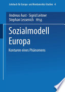 Sozialmodell Europa