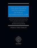 The Max Planck Encyclopedia of Public International Law