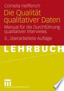 Die Qualität qualitativer Daten