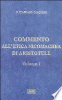 Commento all  Etica Nicomachea di Arist  tele