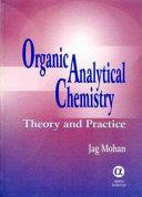 Organic Analytical Chemistry
