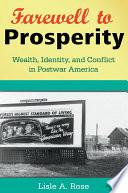 Farewell to Prosperity