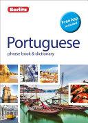 Portuguese Berlitz Phrase Book And Dictionary