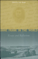 Book Anne Frank in the World