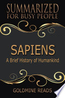 download ebook sapiens – summarized for busy people pdf epub