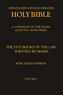 Book The Five Books of the Law Written by Moses