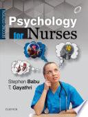 Psychology For Nurses Second Edition E Book