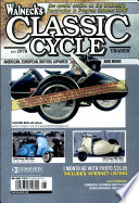 WALNECK'S CLASSIC CYCLE TRADER, MAY 2007