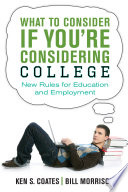 What to Consider If You re Considering College