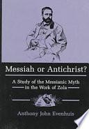 Messiah Or Antichrist  book