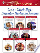 One Click Buy  December Harlequin Presents