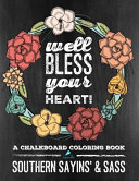 Chalkboard Coloring Book