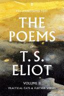 download ebook the poems of t. s. eliot volume ii pdf epub