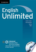 English Unlimited Advanced A and B Teacher s Pack  Teacher s Book with DVD ROM