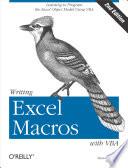 Writing Excel Macros with VBA