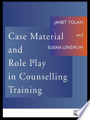 Case Material And Role Play In Counselling Training