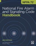 Nfpa 72  National Fire Alarm and Signaling Code Handbook  2013 Edition