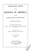 Remarkable Events In The History Of America