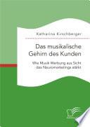 Das musikalische Gehirn des Kunden: Wie Musik Werbung aus Sicht des Neuromarketings stärkt