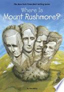 Where Is Mount Rushmore