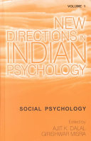 New Directions in Indian Psychology