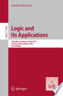 Logic and Its Applications