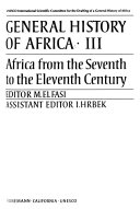 download ebook general history of africa: africa from the seventh to the eleventh century pdf epub