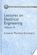 Lectures On Electrical Engineering book