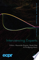 Interviewing Experts