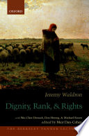 Dignity, Rank, And Rights : university of california, berkeley, april 21,...