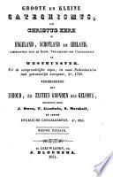 Groote en kleine catechismus, van Christus' kerk in Engeland, Schotland en Ierland