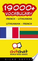 19000  French   Lithuanian Lithuanian   French Vocabulary